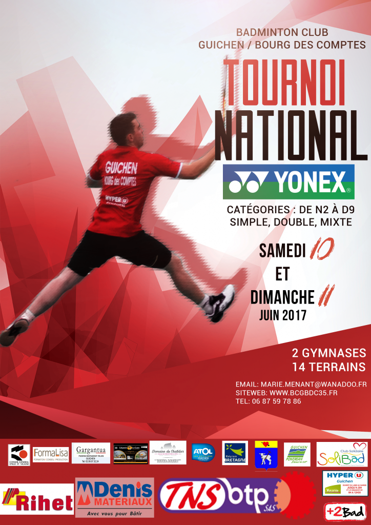 BADMINTON NATIONAL A4