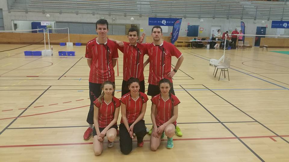 Equipe 1 Florian, Thomas, Julien Youna, Marion, Erell